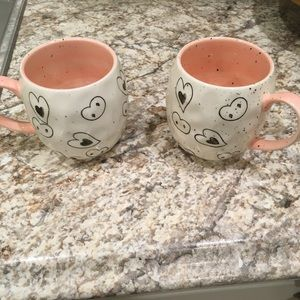 Other - 2 Valentines mugs